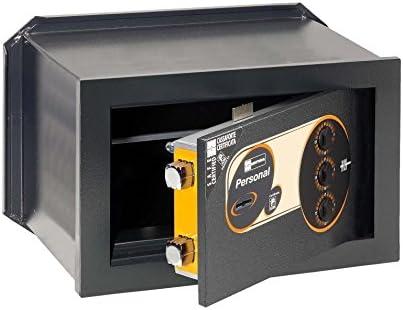 Caja fuerte empotrable con llave y combinación mecánica: Amazon.es: Hogar
