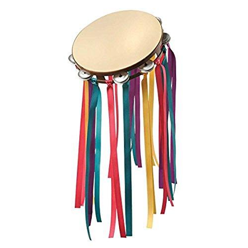 Tambourine Dress Costume (Groovy 60s Tambourine Multicolored)