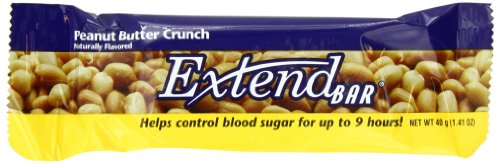 ExtendBar, Peanut Butter Crunch, 1.41-Ounce Bars (Pack of 15)