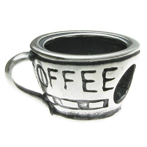 Sterling Silver Coffee European Bracelets product image