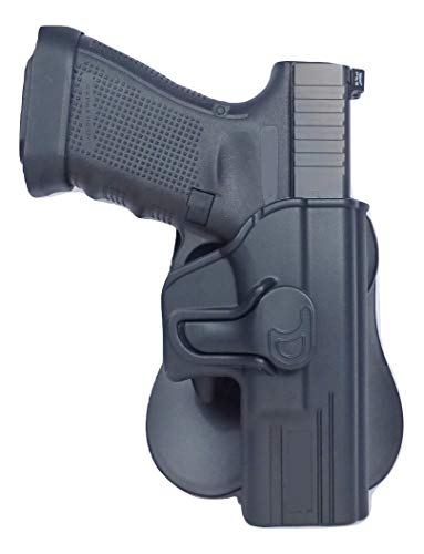 Tactical Scorpion Gear Ruger LC9 LC9s LC380 odular Level II Retention Paddle Holster - Option 1