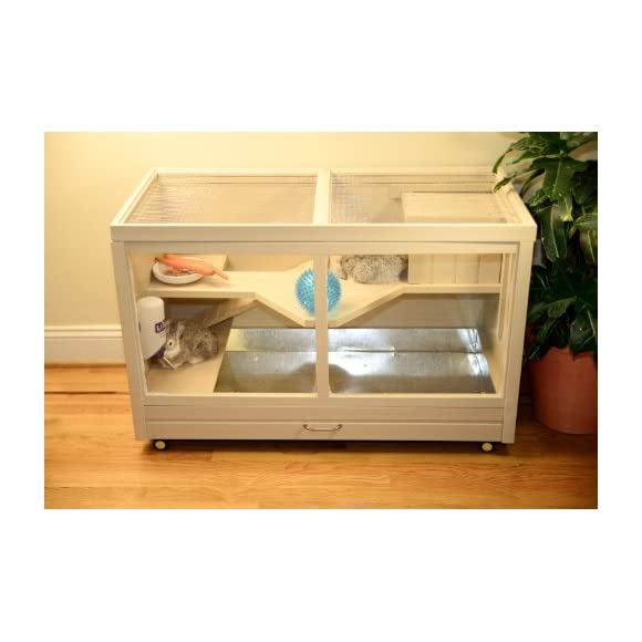 New Age Pet ecoFLEX Indoor Rabbit Hutch