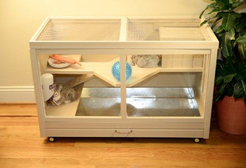 Ecoflex indoor rabbit hutch animals pet supplies pet for Rabbit cage made out of dresser