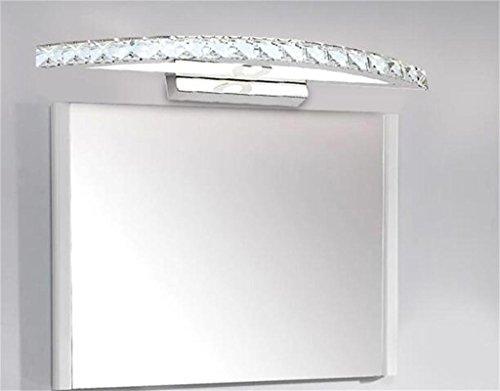 HOMEE Bath mirror lamps- bathroom wall lamp led wall lamp modern minimalist bathroom vanity ideas bedroom wall lamp crystal wall lamp mirror front lamps --make-up mirror headlights,S by HOMEE