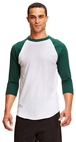 White Classic Raglan T-shirt - 2