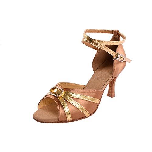 Kevin Forma, Senhoras Dançando Sapatos - Standard & Latin Tamanho Goldbronze: 35,5