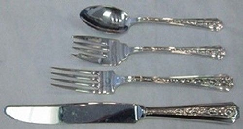 - Talisman Rose By Frank Whiting Sterling Silver Regular Size Place Setting(s) 4pc