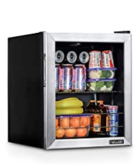 Cold and compact, the New Air 60 Can Compact Beverage Fridge works anywhere you need the convenience of cold drinks, including your home, office, and more. This powerful and compact fridge gets all the way down to 34 degrees, making it one of...