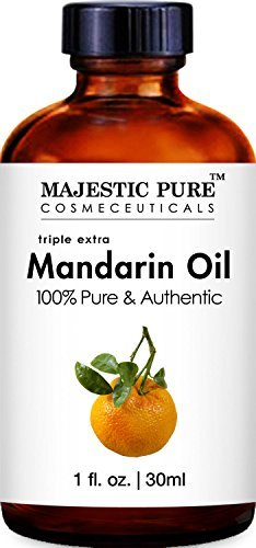 Majestic Pure Mandarin Orange Essential Oil, Pure and Authentic, 1 fl. oz