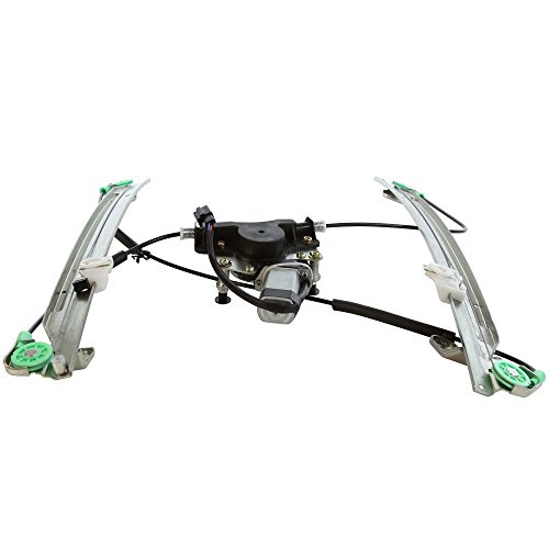 (SUNROAD Power Window Lift Regulator & Motor Assembly Front Right Passenger Side for 2001 2002 2003 Chrysler Town & Country/Voyager | 2001-2003 Dodge Grand Caravan)
