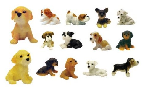 Adopt a Puppy Figures (Series 1) - Set of 14 Vending Machine Toys -