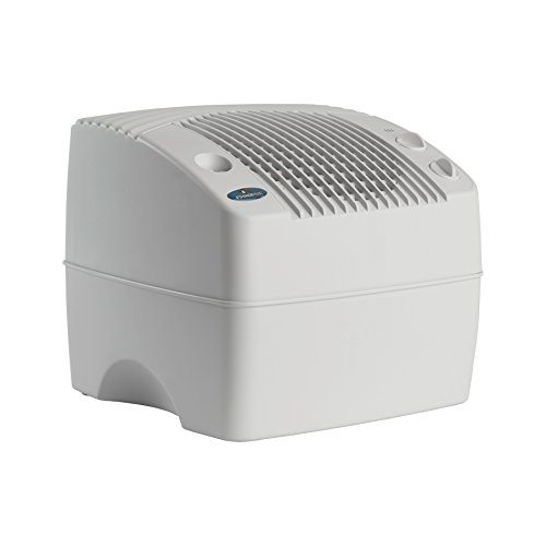 AIRCARE E35 000 2-Speed Tabletop Evaporative Humidifier, White