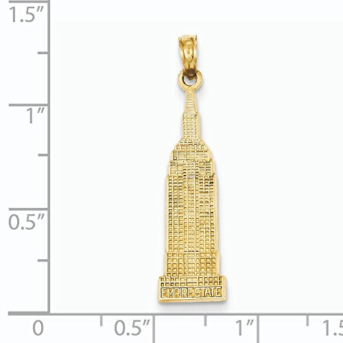 Empire State Building Pendentif or 14ct
