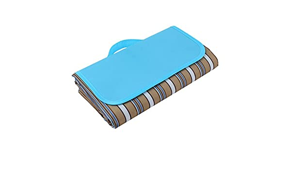 Amazon.com : eDealMax excursión al aire Libre plegable Resistente al agua alfombra de Picnic Camping Manta de viaje Alfombra 250 cm x 150 cm Color del café ...