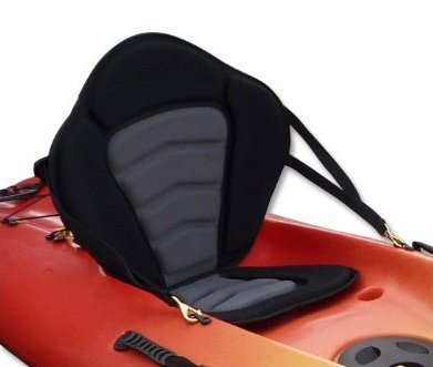 Pactrade Marine Adjustable Padded Deluxe Kayak Seat Detachable Back Backpack/Bag Canoe - Backrest Replacement