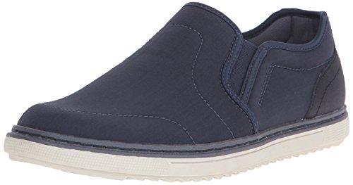Nunn Bush Mens Archie Twin Gore Plain-Toe Slip-On Loafer
