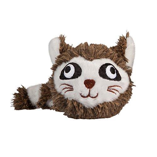 Image of fabdog Fabballs Raccoon Medium Dog Ball Dog Toy
