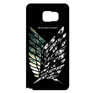 Animation Shingeki No Kyojin Phone Case Best Sell Scouting Legion Image Shell Case for Samsung Galaxy Note 5