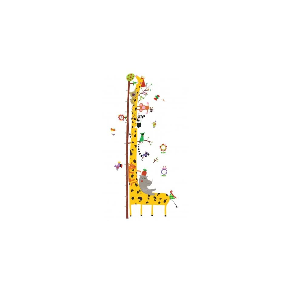 Djeco Wall Stickers Height Chart   Friends of the