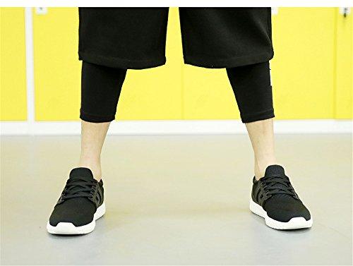 Primavera Y Verano Zapatos De Ocio Al Aire Libre Resbalón Resistente Al Desgaste Zapatos Ligeros Y Transpirables Casual Negro