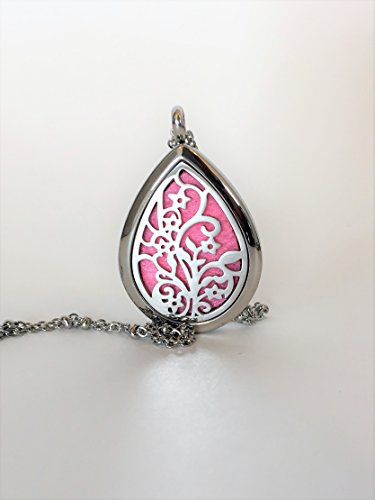 teardrop-pendant-aromatherapy-necklace-fivefold-fox-essential-oil-diffuser-openwork-stainless-steel-