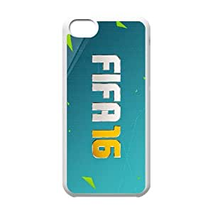 games EA Sports FIFA 16 Game Logo iPhone 5c Cell Phone Case White Special Tribute p6xr_3478798