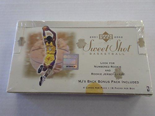 2001-2002 Upper Deck Sweet Shot Basketball Factory Sealed Box (2001 Upper Deck Sweet)