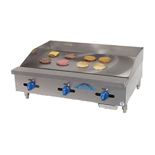 Comstock Castle FHP30-30 Manual Countertop Gas Griddle