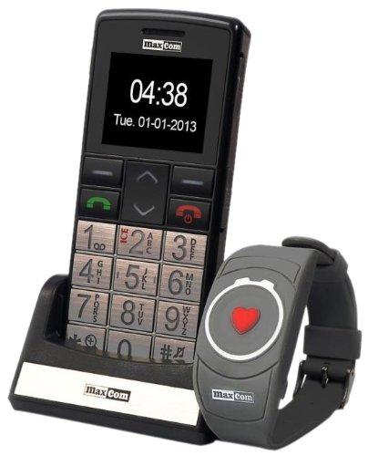 Großtasten Handy mit Notrufarmband