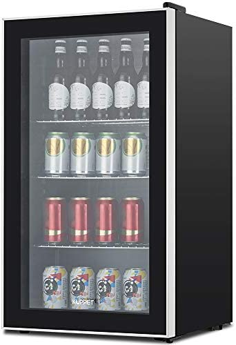 KUPPET 120 Can Beverage Refrigerator Stainless product image