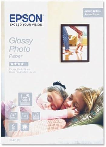 Epson Premium Glossy Photo Paper BOGOF - Papel fotográfico brillante A4 (210 x 297 mm) 15 hojas (pack de 2)