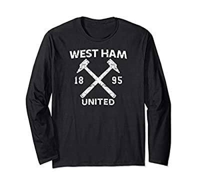 West Ham United Hammers 1895 Distressed Long Sleeve T-Shirt