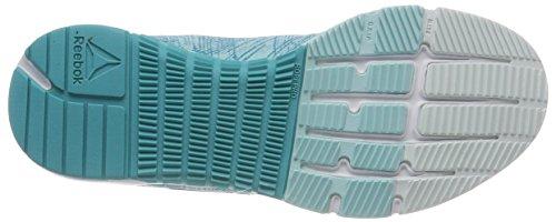 000 Mujer Tr opal solid silver Zapatillas Her Para Reebok blue Azul Speed De white Lagoon Deporte Teal 4wxanqfF