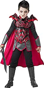 InCharacter Vampire Knight Costume, Red/Black/Gray, Medium