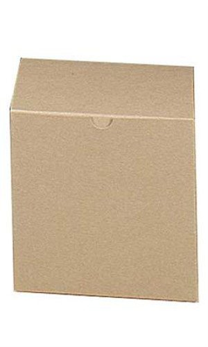 Count of 100 New pc 13153-618 Gift Boxes Kraft 6''L x 6''W x 6''D