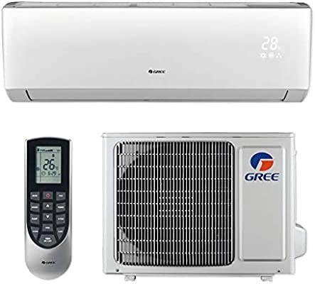 Gree LIVS12HP230V1B 12 000 BTU 16 SEER LIVO Wall Mount Ductless Mini Split Air Conditioner Heat Pump 208 230V
