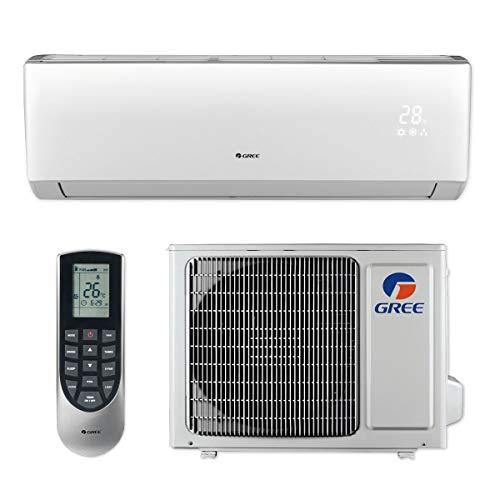 Gree LIVS12HP115V1B 12,000 BTU 16 SEER LIVO+ Wall Mount Ductless Mini Split Air Conditioner Heat Pump 115V