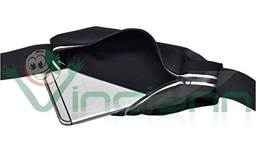 "4smarts Basic BONDI 6,0"" Universal Sports borsa XL nero"