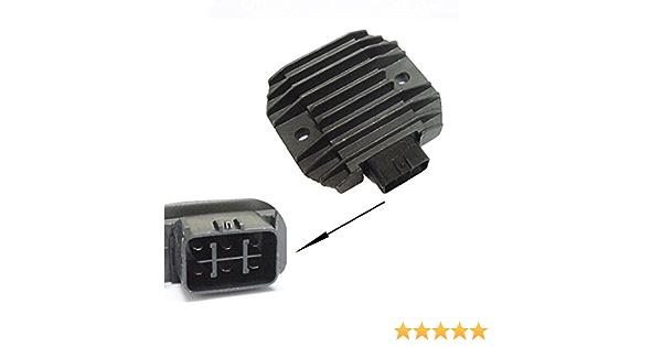 Voltage Regulator Rectifier connector Fits for Yamaha YFM70 KODIAK 700 EPS 4WD HUNTER YFM700FWAD Grizzly 700 EPS