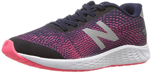 New Balance Girls' Arishi Next V1 Hook and Loop Running Shoe, Pigment, 1 M US Little Kid