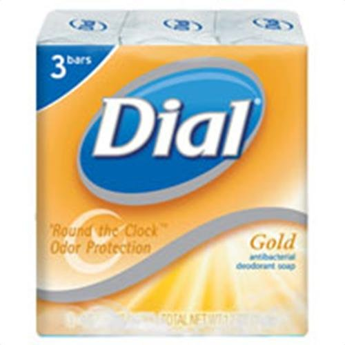 Dial Gold Antibacterial Deodorant Soap 3 Pack Bar Soap