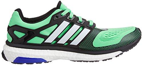 adidas uomo scarpe, Energy Boost ESM, Verde (flash green s15/core black/ftwr white), 41 1/3