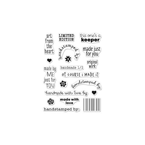 Hero Arts CM305 Clear Stamp Greetings LimitEdi
