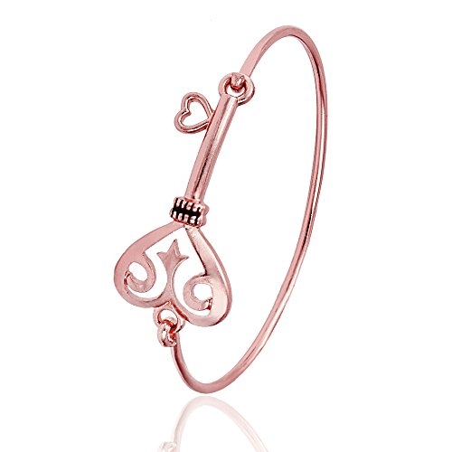 GUANDU Simple Expandable Scissor Bangle Bracelet for Women Girls Gifts