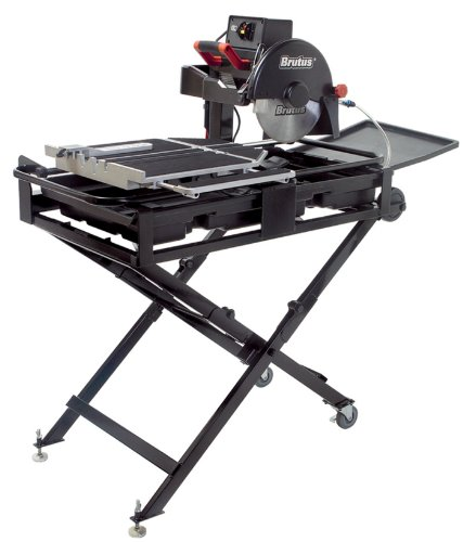 QEP 61024 24-Inch BRUTUS Professional Tile Saw with Water Pump and Folding Stand