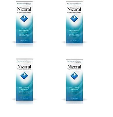 Nizoral A-D Anti-Dandruff Shampoo, 7 Fl. Oz (2 Pack)