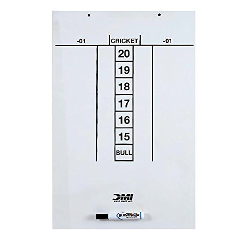 DMI Dart Scoreboard - Dry Erase for Cricket & 01 by DMI Sports