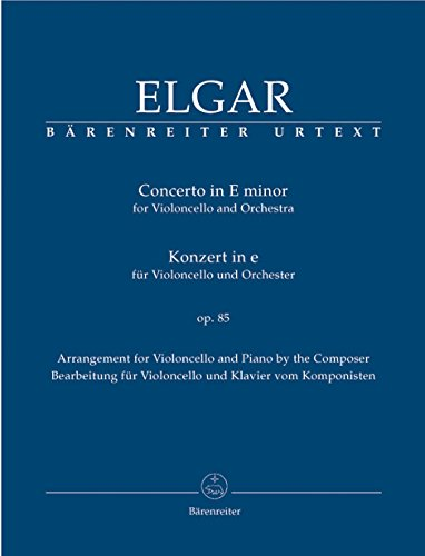 Cello Concerto Sheet Music - Elgar: Cello Concerto in E Minor, Op. 85