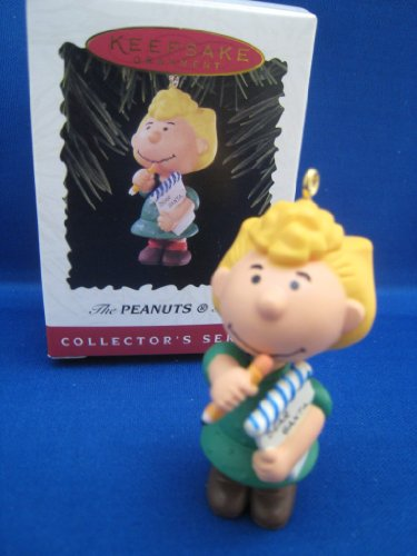 Hallmark Peanuts Gang Sally Keepsake Ornament(1996 4th in Series)