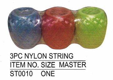 3 PCS NYLON STRING SET, Case Pack of 96